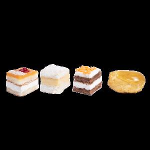 pasteles surtidos